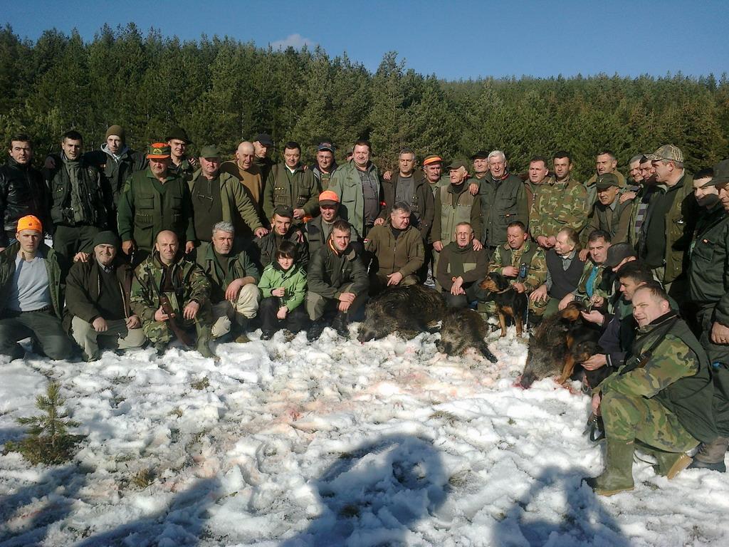 Pobratimski lov 1. dan