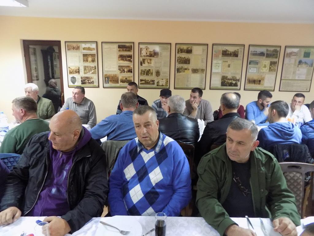 Lovci Sjenice u Kragujevcu, novembar 2015. godine